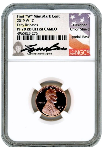NGC PF70 ULTRA CAMEO 2019-S Proof Lincoln Shield Cent Penny US Mint USA 1c
