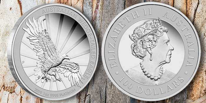 Perth Mint - Wedge-Tailed Eagle 1 ounce Platinum coin