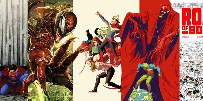 Top 5 Comic Book Covers - ComicWeek