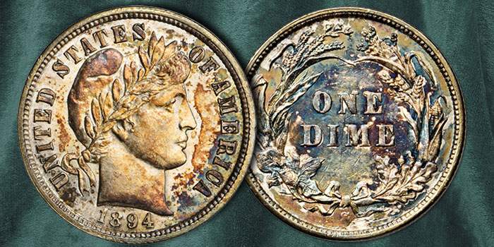 Stack's Bowers 1894-S Dime at ANA World's Fair of Money Auction
