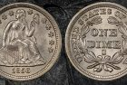 Fabled SSCA Treasure Reveals Extremely Rare, Gem 1856-S Dime