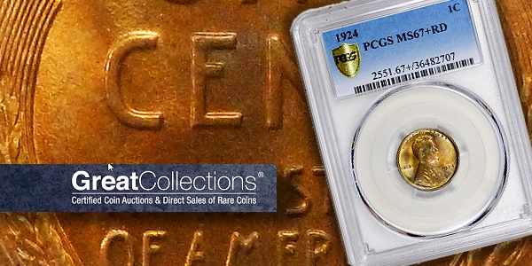 Top Pop 1924 Lincoln Wheat Cent in Demand at GreatCollections