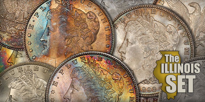 All-Time Finest Morgan Dollar PCGS Coin Set Will Be Sold Intact