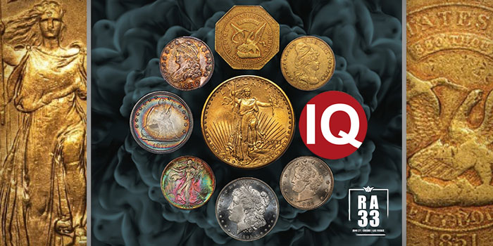 Legend Rare Coin Auctions - Regency 33 - CoinWeek IQ