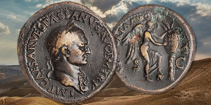 Important Judaea Capta Coinage Offered in Stack's Bowers August ANA Auction