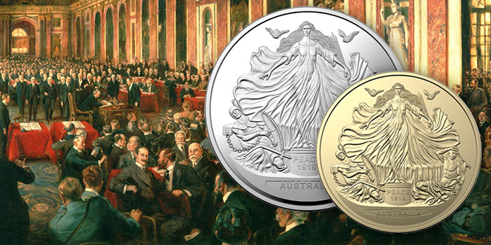 Royal Australian Mint - Treaty of Versailles