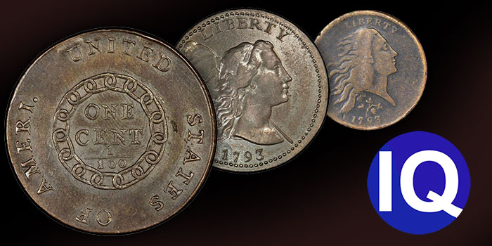 CoinWeek IQ: A Breakdown of Flowing Hair Large Cents