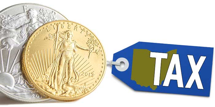 Ohio State Sales Tax - Gold and Silver Bullion and Coins