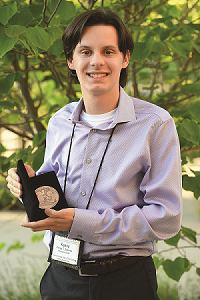 Kenny Sammut - 2019 ANA Young Numismatist of the Year award winner