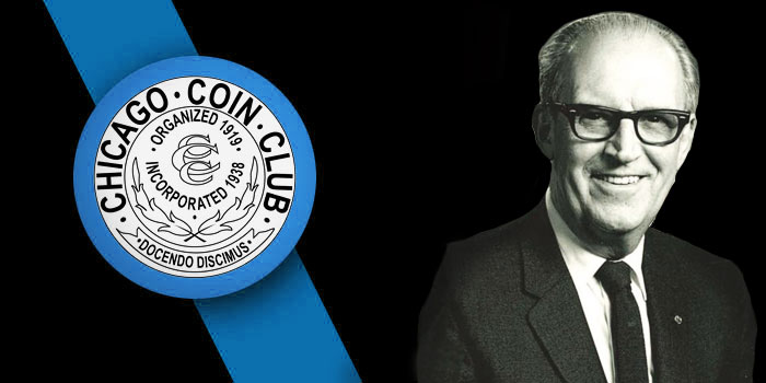 Chicago Coin Club Inducts Glenn B. Smedley Into Hall of Fame