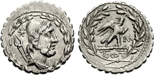 Ancient Roman Serrati. Images courtesy NGC