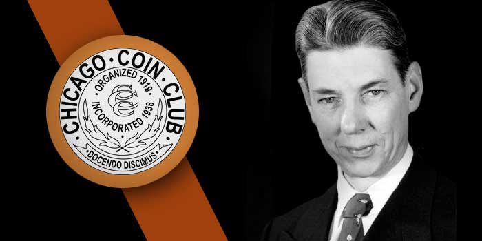 Chicago Coin Club Inducts Elston G. Bradfield Into Hall of Fame