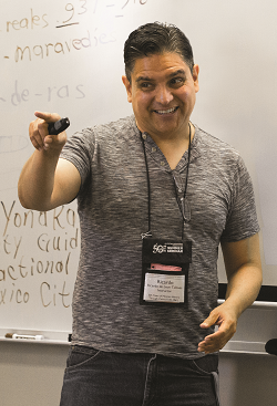 Ricardo de León Tallavas, 2019 ANA Outstanding District Representative Award winner. Photo courtesy ANA