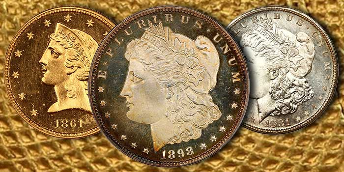 Morgan Dollar From D.L. Hansen Collection Among Highlights of David Lawrence Rare Coin Auctions