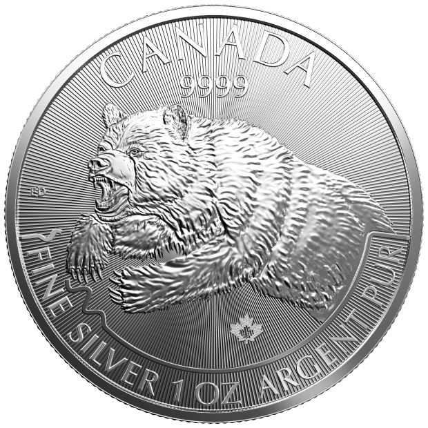 Grizzly Bullion Coin