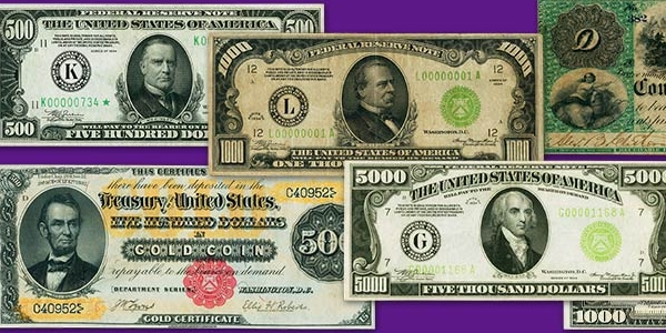Heritage ANA Currency Auction