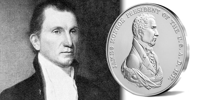 James Monroe Silver Medal - United States Mint