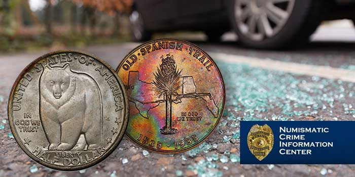 Numismatic Crime - San Mateo PCGS Coin Theft