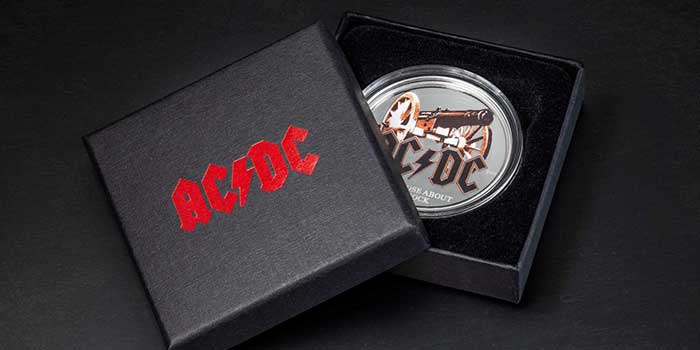 CIT Salutes Those About to Rock with New AC/DC Coin