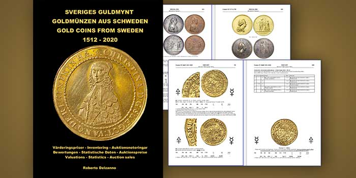 New Book on Gold Coins of Sweden First on the Subject in Nearly 40 Years