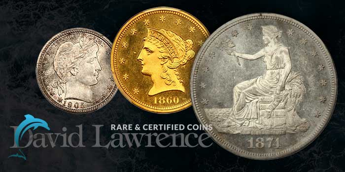Popular Carson City Trade Dollar Among Highlights at David Lawrence Rare Coins Auction
