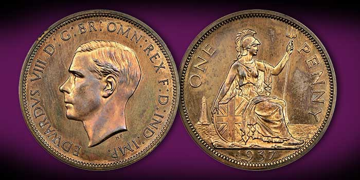 Spink to Auction Edward VIII Pattern Coin