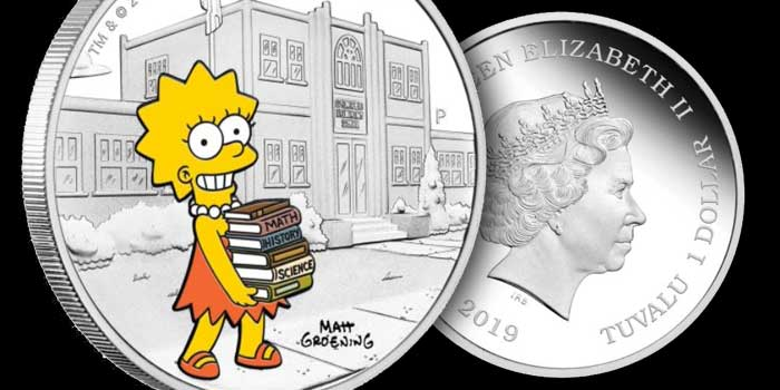 Perth Mint Coin Profiles - 2019 The Simpsons - Lisa 2019 1oz Silver Coin