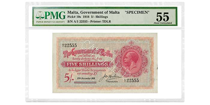 More Than 200 PMG-Certified Banknotes From Ibrahim Salem Collection Part 2 to be Sold