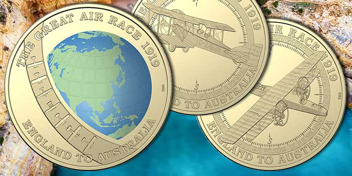 Great Air Race Coin Collection by Royal Australian Mint ...