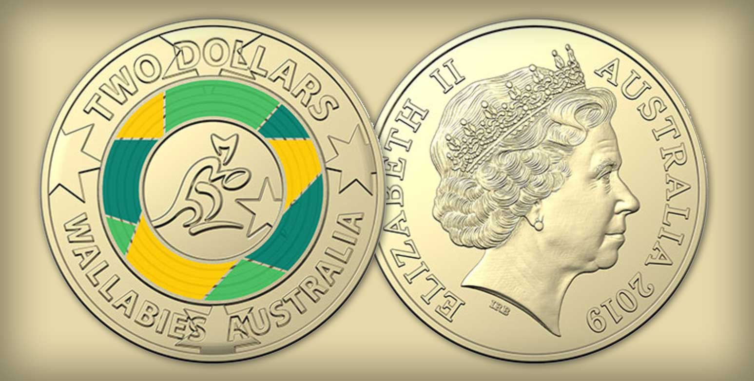 Royal Australian Mint Releases Limited Edition Coin to Celebrate Wallabies' Road to Japan