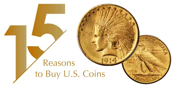 "Jim Bisognani: ""15"" Reasons to Buy US Gold Coin Series"