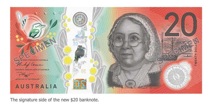 Announces Release Date For New 20 Banknote