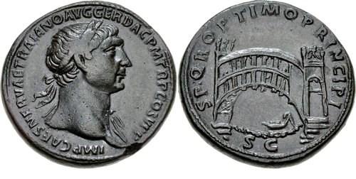 NGC Ancients: Bridges on Roman coins
