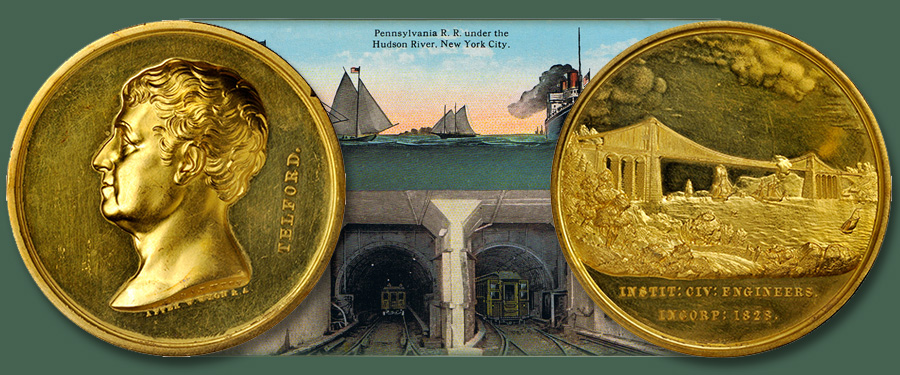 Historic gold Telford medal featured in Stack's Bowers November 2019 Auction of the Whitman Baltimore Coin and Collectible Expo
