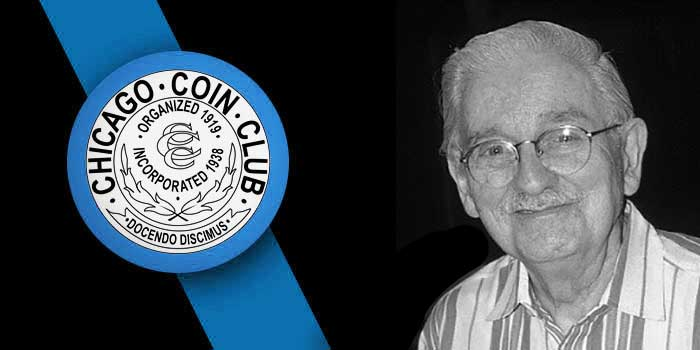 Chicago Coin Club Inducts Arlie Slabaugh Into Hall of Fame