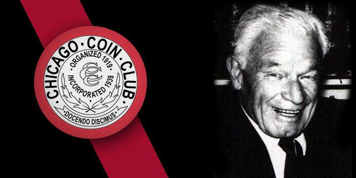 Chicago Coin Club Inducts Harry Flower Into Hall of Fame