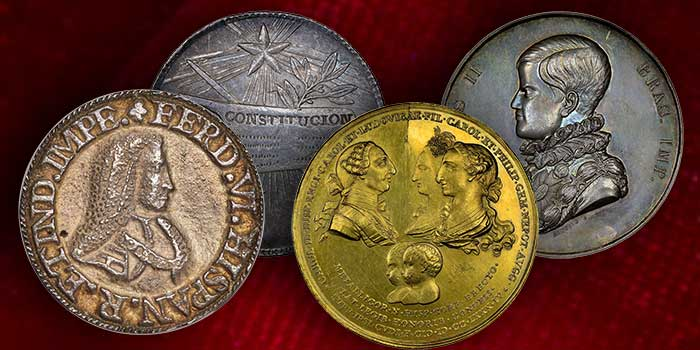 Heritage Auctions: Dresden Collection of Hispanic and Brazilian Proclamation Medals