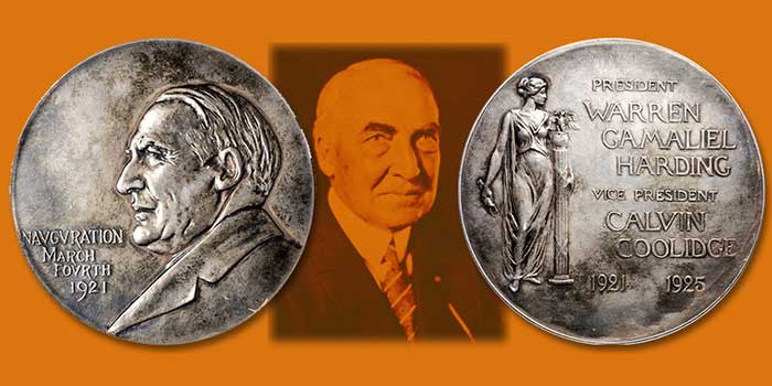Rare Silver Harding Inaugural Medal, Gold Telford Medal Featured in Stack's Bowers Baltimore Auction