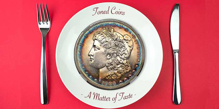 Toned Coins - A Matter of Taste