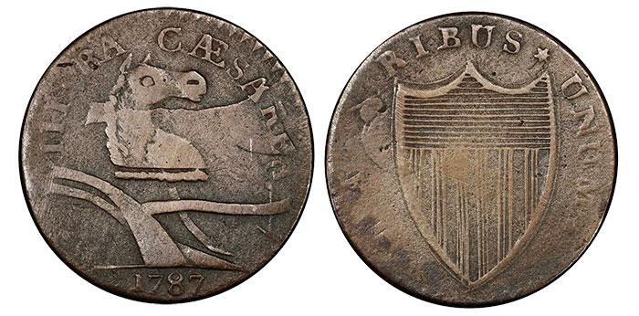 """1787 New Jersy """"Camel Head"""""""