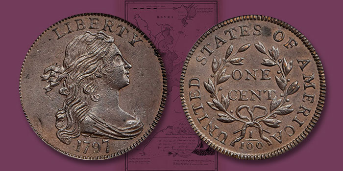 Near-Gem 1797 Large Cent Featured in Stack's Bowers March 2020 Baltimore Auction
