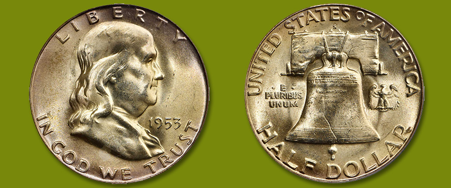 Rare 1953-S Half Dollar With Full Bell Lines Featured in Stack's Bowers March 2020 Baltimore Auction