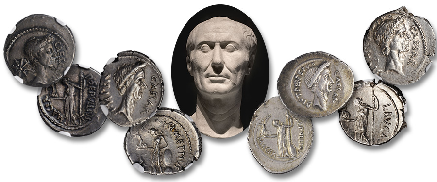 Caesar and the Ides of March; Ancient Roman coins by Stack's Bowers Auctions