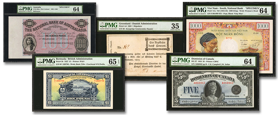 World Paper Money Sale Highlights at the Stack's Bowers New York International Numismatic Convention (NYINC) Auction