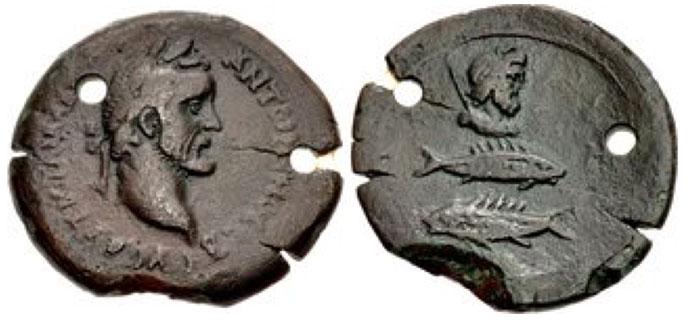Alexandria. Antoninus Pius. AD 138-161. Æ Drachm.