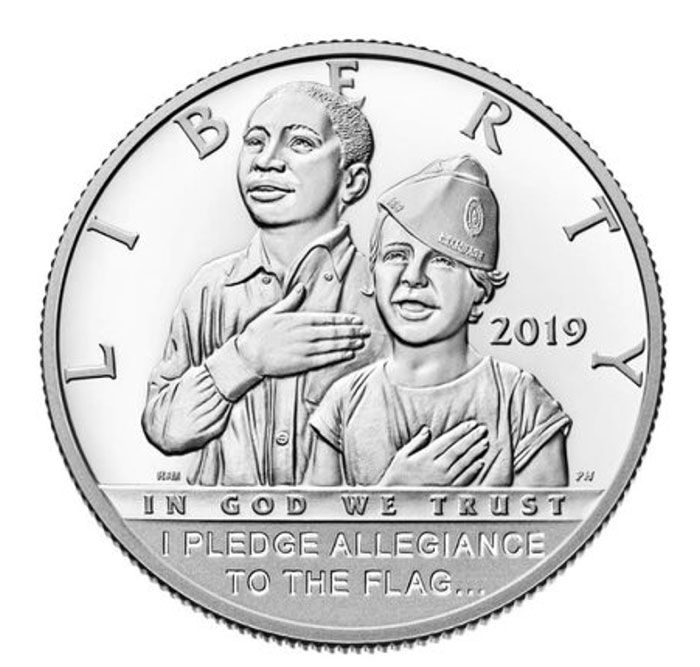 American Legion Commemorative Silver Dollar