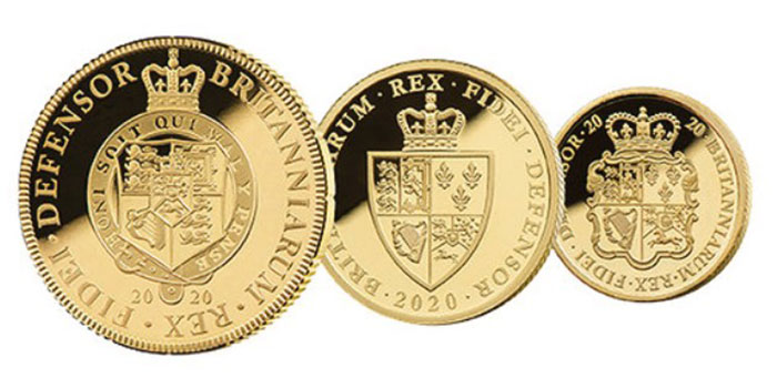 East India Company Issues Gold Guineas for Reign of King George III Bicentenary