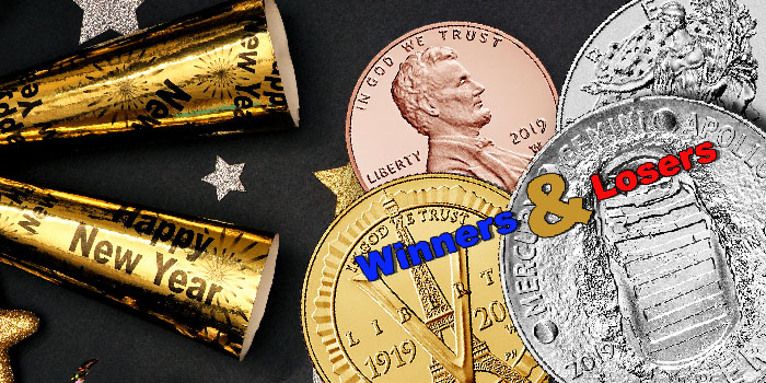 The Year That Was: Winners and Losers at the US Mint in 2019