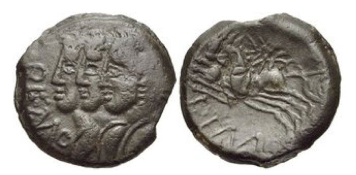 Northeast Gaul. Remi. Circa 100-50 BCE. Æ 15mm (2.74 g, 7h).