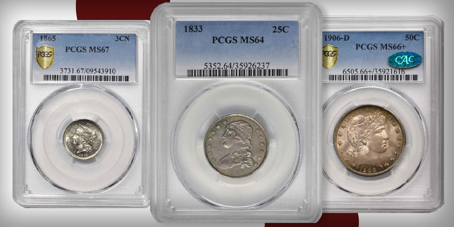 Stack's Bowers December Collectors Choice, Precious Metals Auctions Close This Week